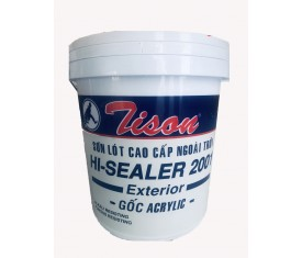Sơn lót ngoại thất Tison Hi-Sealer cao cấp - 5 Lít