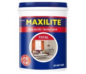 Sơn nội thất Maxilite Total mờ - 18 Lít
