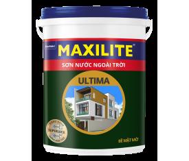 Sơn ngoại thất Maxilite ULTIMA Mờ - 18Lít