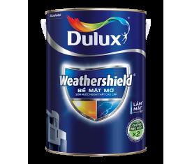 Sơn ngoại thất Dulux Weathershield  mờ - 5Lít