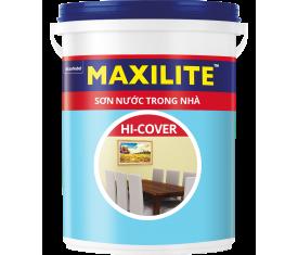 Sơn nội thất Maxilite Hi Cover mờ - 5 Lít