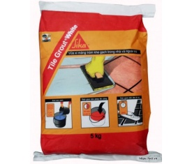 TILE GROUT (WHITE) bao 5kg
