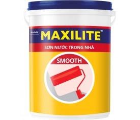 Sơn nội thất Maxilite Smooth mờ - 18 Lít