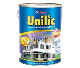 Sơn ngoại thất Tison Unilic siêu bóng - 1 Lít