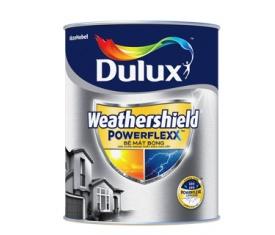 Sơn ngoại thất Dulux weather shield powerlexx - 5 Lít