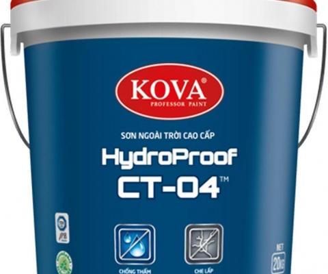 Sơn ngoại thất Kova CT04 - 18 Lít