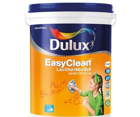 Sơn nội thất Dulux Easyclean bề mặt mờ - 18Lít
