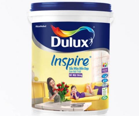 Sơn nội thất  Dulux Inspire bề mặt bóng - 18Lít