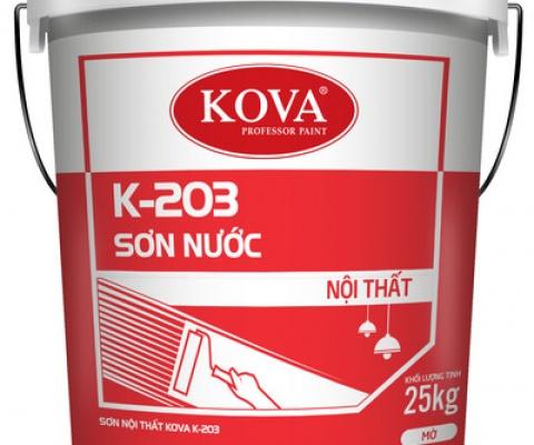 Sơn nội thất Kova K-203 - 18 Lít