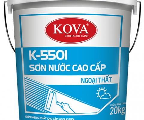 Sơn ngoại thất Kova K-5501 - 5 Lít
