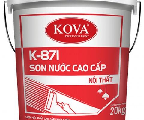 Sơn nội thất Kova K-871 bóng - 5 Lít