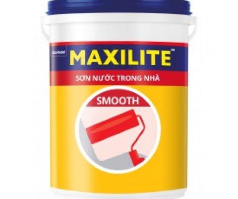 Sơn nội thất Maxilite Smooth mờ - 5 Lít