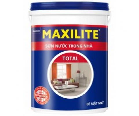 Sơn nội thất Maxilite Total mờ - 5 Lít