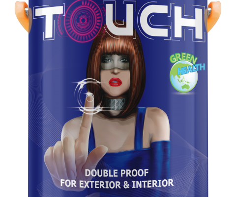 MYKOLOR TOUCH DOUBLE PROOF FOR EXT & INT - 18L