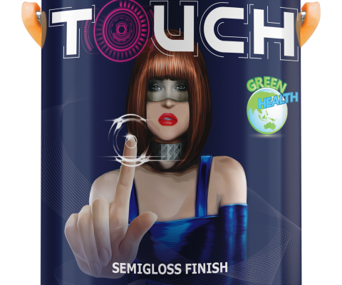 MYKOLOR TOUCH SEMIGLOSS FOR EXT - 1 Lít