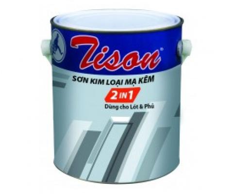Sơn dầu mạ kẽm Tison - 3 Lít