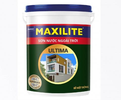 Sơn ngoại thất Maxilite ULTIMA Bóng - 5Lít
