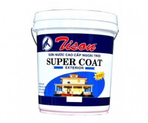 Sơn ngoại thất Tison SuperCoat - 5 Lít