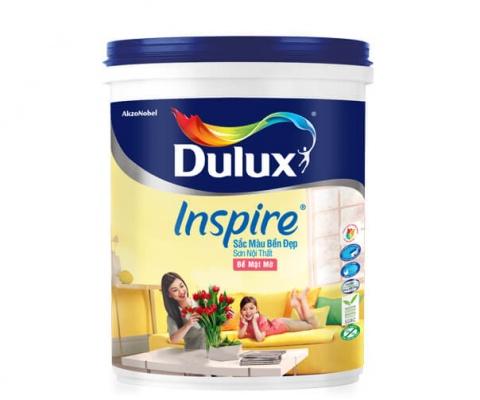 Sơn nội thất Dulux Inspire bề mặt mờ - 18Lít
