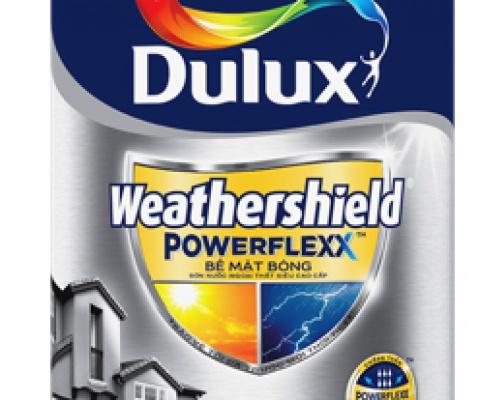 Sơn ngoại thất Dulux weather shield powerlexx - 1 Lít